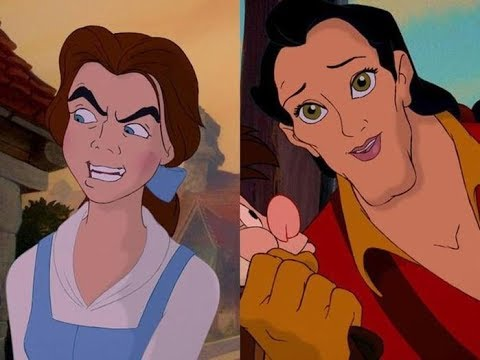Если бы персонажи Дисней поменялись лицами  Mizuki Konako