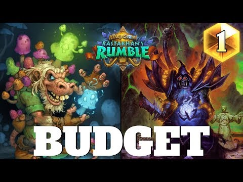 Hearthstone BUDGET WARLOCK for easy Legend! Hearthstone Rastakhan's Rumble Budget Decks #5 (2018)