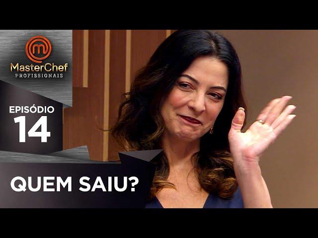 ELIMINADO DA SEMANA | EP 14 | MASTERCHEF PROFISSIONAIS