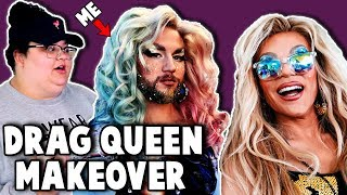 DRAG QUEEN MAKEOVER w/ Willam & Christine Sydelko