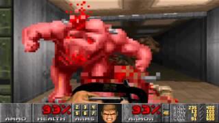 Doom II - Level 10 - Refueling Base - UV