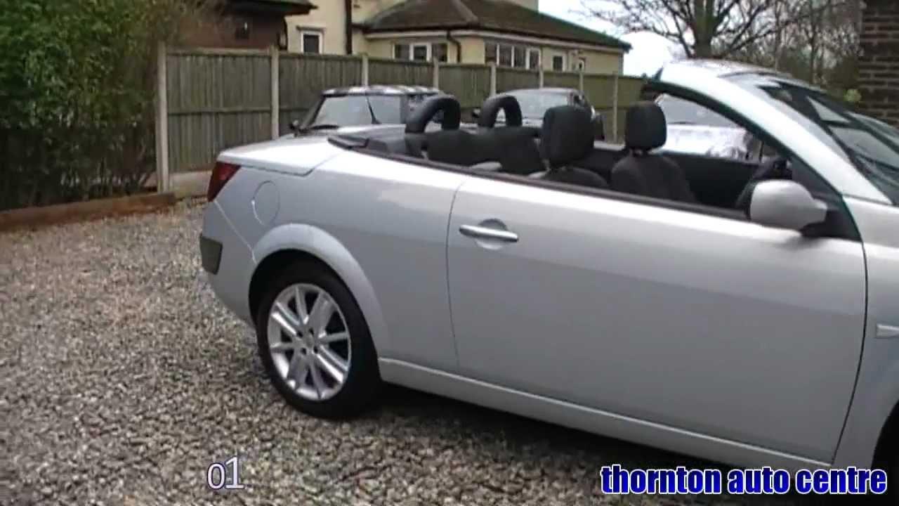 2004 renault megane convertible 1 6 dynamique youtube. Black Bedroom Furniture Sets. Home Design Ideas