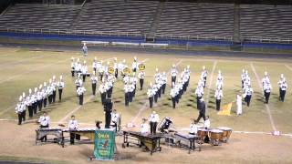 Enloe High Marching band - Finals at Sanderson