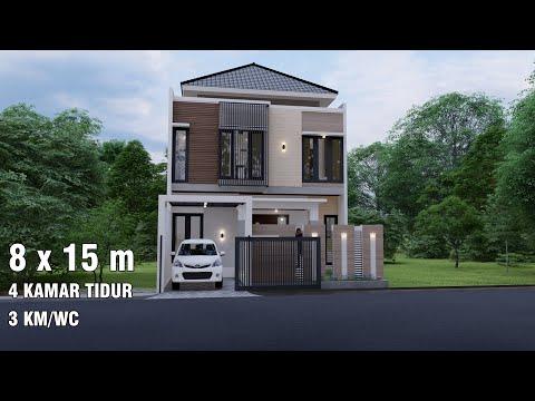 Rumah Minimalis 2 Lantai Void desain rumah minimalis 2 lantai yang nampak mewah dan modern