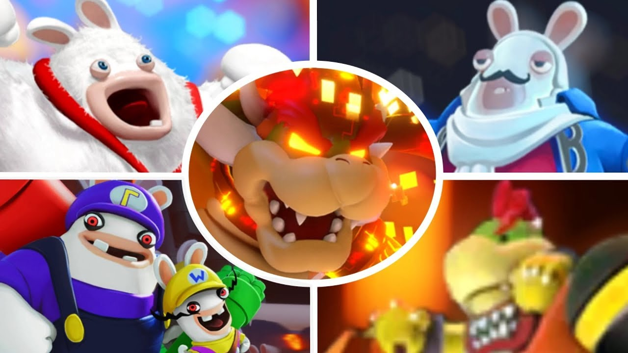 Mario Rabbids Kingdom Battle All Bosses Clipzui Com