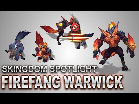 Firefang Warwick Skin Spotlight | SKingdom - League of Legends | Compare