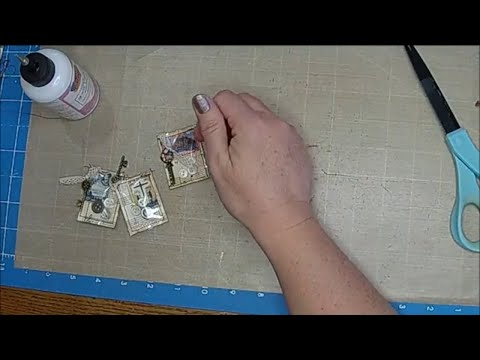 Tutorial: Paperclip Embellishments Part 1 (Button Shaker Paperclips)
