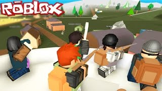 Roblox Zombie Apocalypse Survival - Town Sheriff Saves The Day (Roblox Dayz)