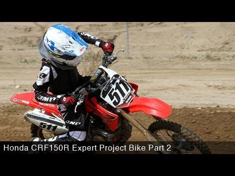 MotoUSA Project Bike: 2012 Honda CRF150RB Expert Part 2