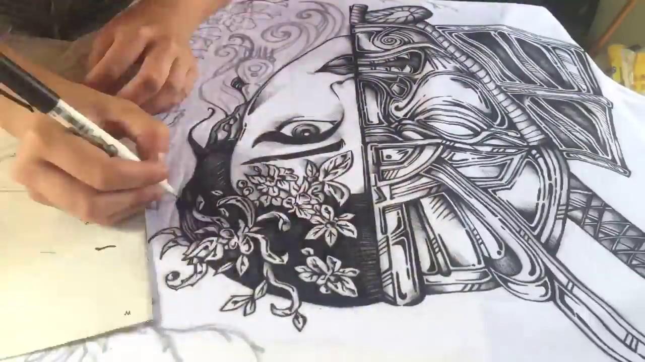 T-shirt design handmade - Handmade T Shirt Design