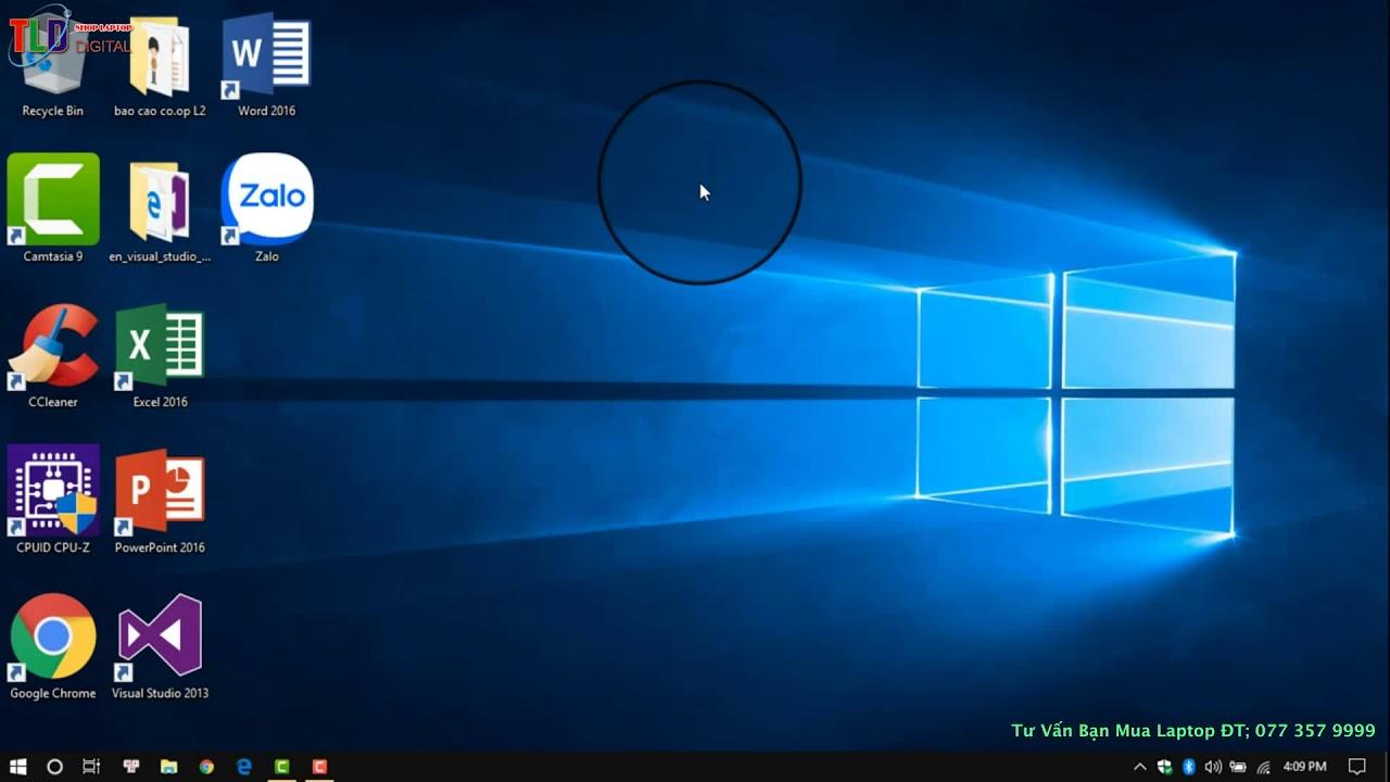 Hướng Dẫn Một Số Tùy Chỉnh Cơ Cản  Thanh Taskbar Trên Windows 10