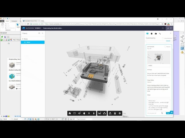 Shared Views - PowerShape 2018