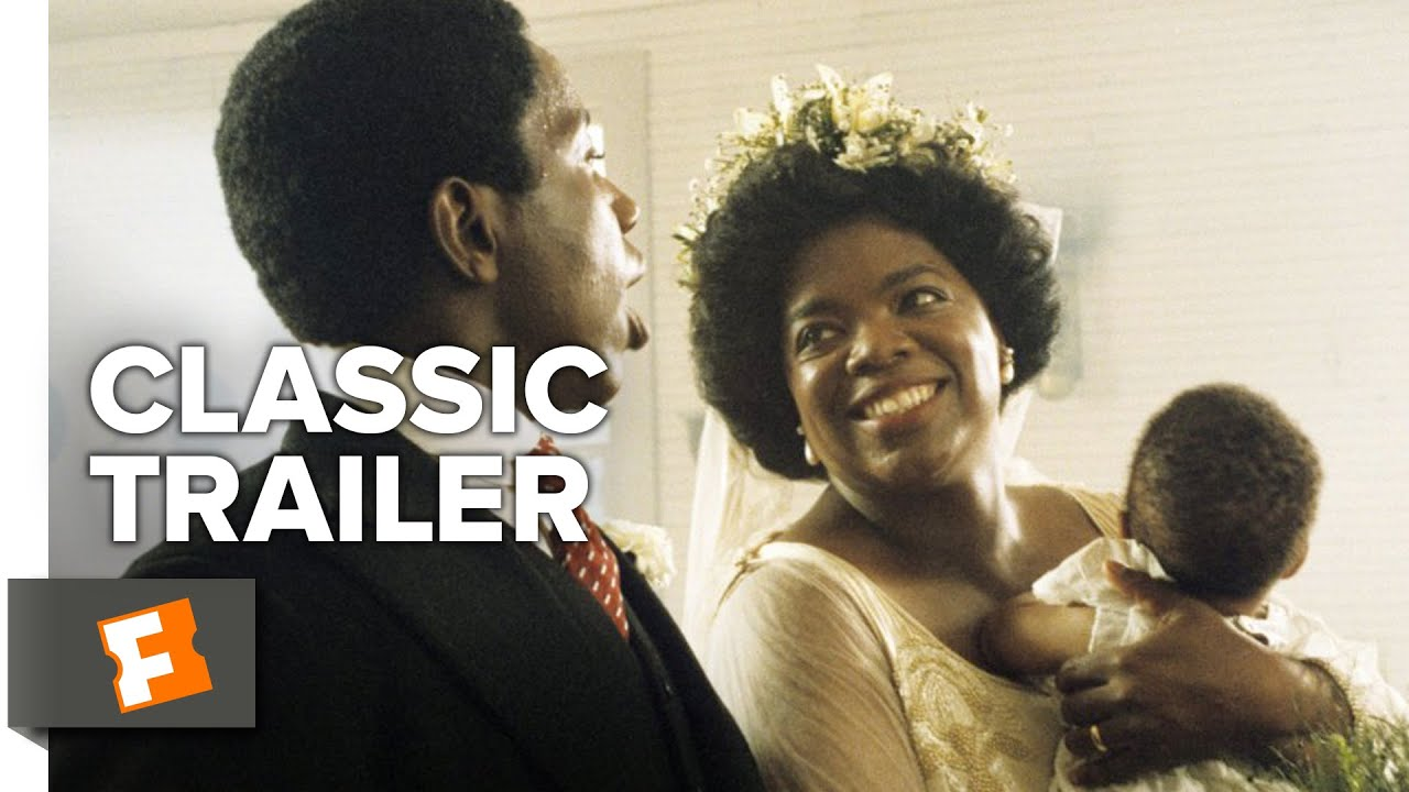 The Color Purple 1985 Official Trailer Oprah Winfrey Steven