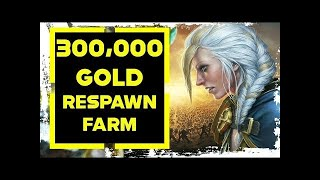 World Of Warcraft Gold Farm 300,000 Gold Instant RESPAWN FARM