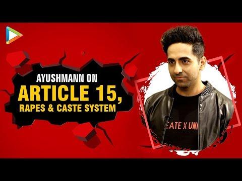 Ayushmann On Article 15 & The Constitution | Shahid Kapoor | Ranbir Kapoor | Deepika Mp3