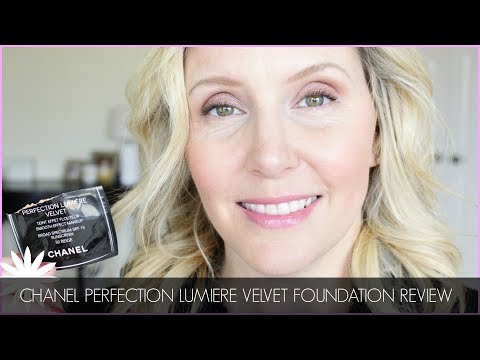CHANEL PERFECTION LUMIER VELVET FOUNDATION TRY-ON & REVIEWHi there! Today I am just quickly reviewing the Chanel perfection lumber velvet foundation. I love