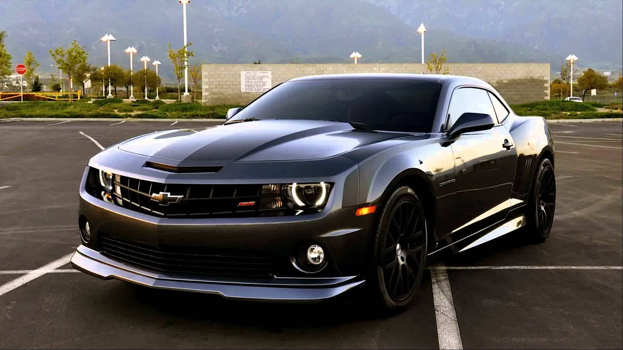 black chevrolet clouds camaro - photo #4