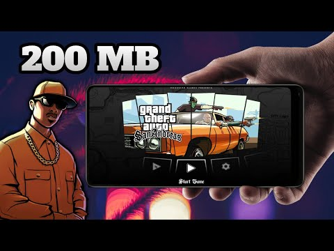Download GTA San Andreas For Android Highly Compressed 200 MB