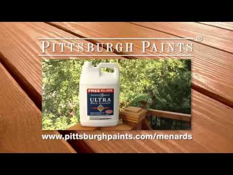 Ultra Deck Cleaner Pittsburgh Paints And Stains