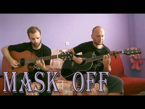 Future - Mask Off (acoustic guitar cover, tabs) #MaskOffChallenge