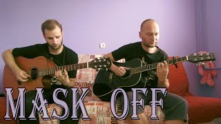 Future - Mask Off (acoustic guitar cover, tabs) #MaskOffChallenge