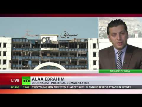 Syrian rebels leave Homs following truce deal