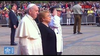 Podróż apostolska papieża Franciszka do Chile: spotkanie z przedstawicielami władz