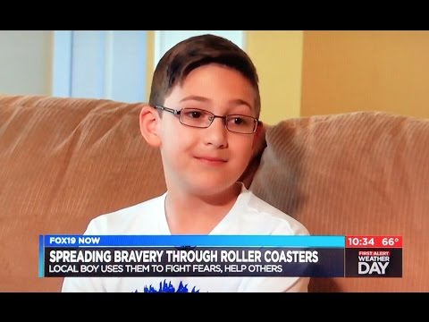 Story About Logan from Koaster Kids on Cincinnati News