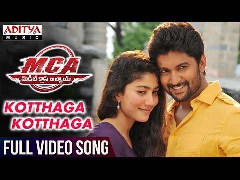 Kotthaga Kotthaga Full Video Song | MCA Full Video Songs | Nani, Sai Pallavi | DSP | Sriram Venu