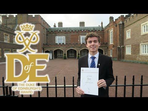 What happens at St James's Palace? (Gold DofE Award Presentations 2018)