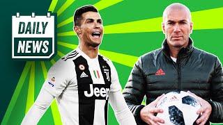 Zidane's Chelsea demands, Mourinho 'wants' PSG job + CR7 & Messi score! ► Onefootball Daily News