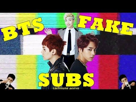 Jin y sus chistes de papá + Yoongi el maleante + Namjoon el gobernado ( BTS FAKE SUBS ESPAÑOL )
