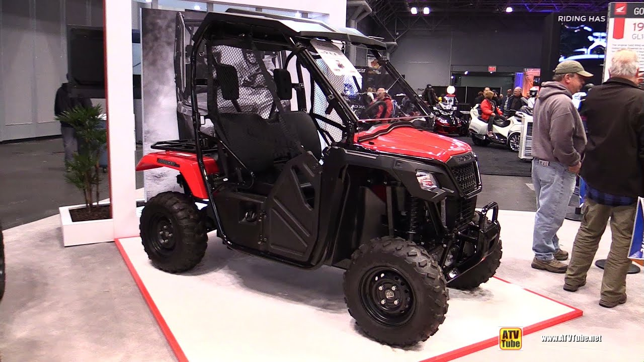 2015 honda pioneer 500 side by side atv walkaround 2014 ny motorcycle show youtube. Black Bedroom Furniture Sets. Home Design Ideas