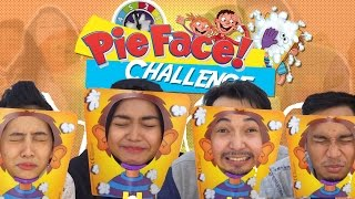 PIE FACE CHALLENGE INDONESIA with Ria Ricis
