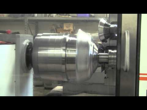 Forming Aluminum Rims by Spinning