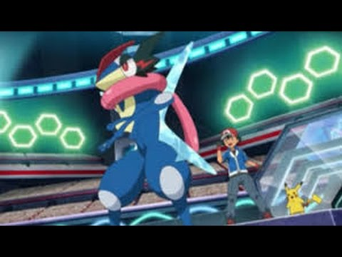 Pokemon XYZ All Ash Greninja Moments Episode 7- 46