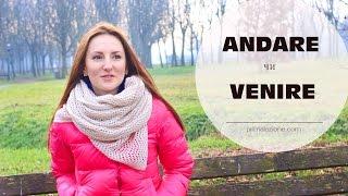 ANDARE чи VENIRE || Уроки італійської мови для початкіців