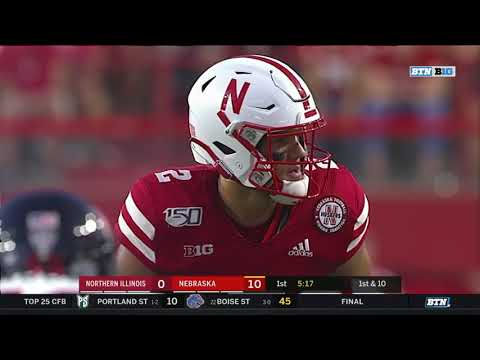 Nebraska vs Northern Illinois 2019 In 40 Minutes (Full Game)