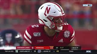 Nebraska vs Northern Illinois 2019 In 40 Minutes (Full Game)