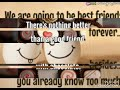 Funny quotes about friendship and being friends.