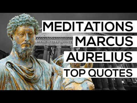 Top Quotes From Meditations By Marcus Aurelius | Philosophy Of Stoicism | Animated Book Summary