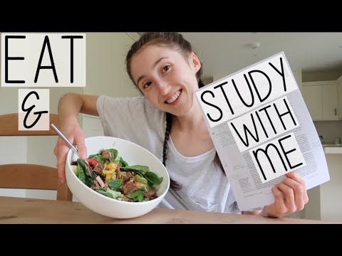(AD) WHAT I EAT IN A DAY STUDY WITH ME AS A BIOLOGY STUDENT | PRODUCTIVE SUMMER DAY IN THE LIFE VLOG
