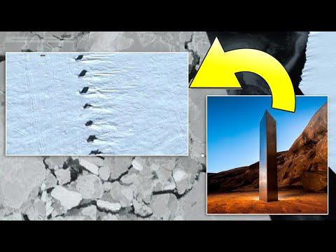 Unglaublich was man da in der Antarktis entdeckt hat - Aliens oder geheimes Weltraumprogramm?