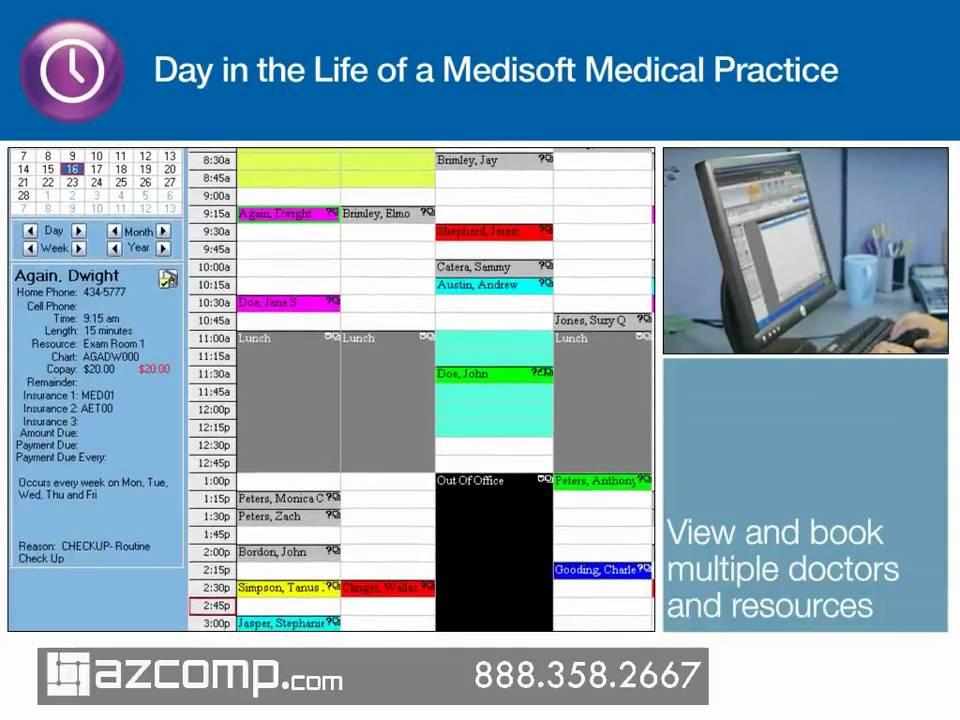Medisoft Medical Billing Software Demo Azcomp