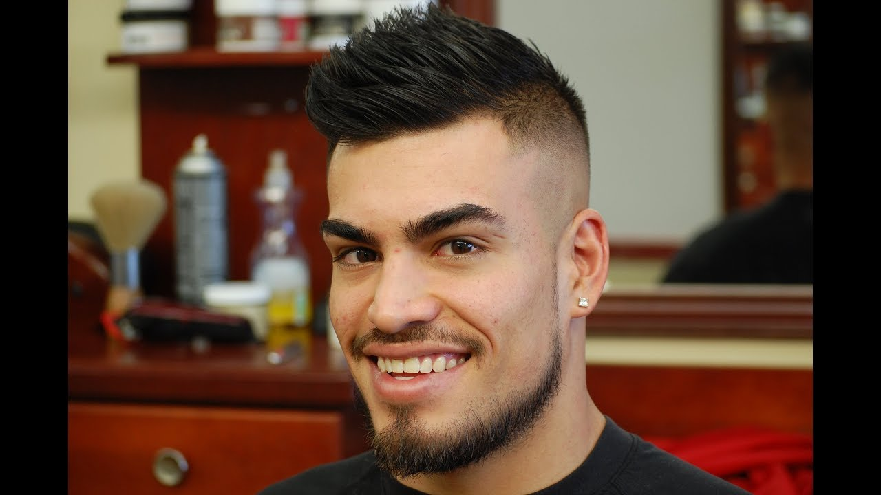 Barber Tutorial How To Style A Fohawk Youtube