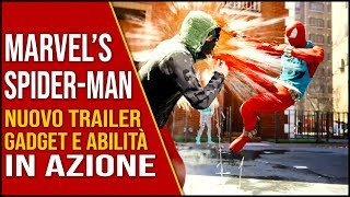 Spiderman PS4 Trailer Gadget E Abilità In Azione - Notizie E Novità - Spider Man PS4 Gameplay Ita