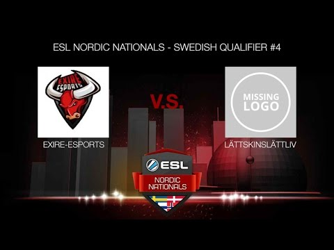 eXire-eSports vs. lättskinslättliv (ESL NORDIC NATIONALS - SWEDISH QUALIFIER #4)