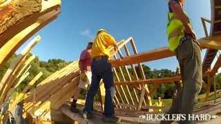Shipwrights' Workshop - Timber Frame Raising