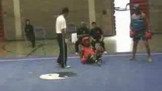 Chin Woo 2006 Sanda fight -75 kg part 1