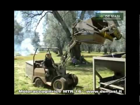 De Masi Motoraccoglitrice per olive MTR 16